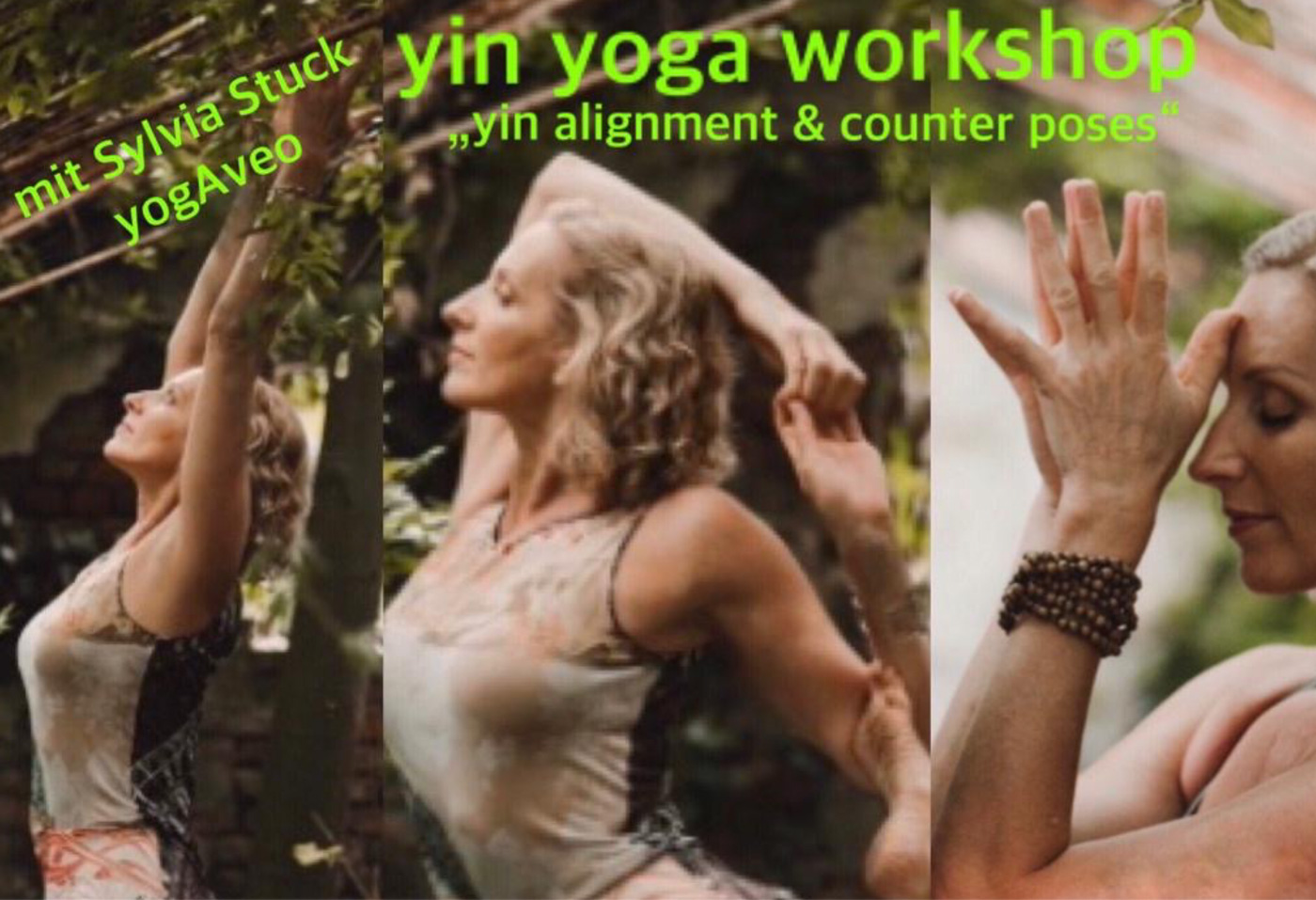 Yin Yoga Workshop mit Sylvia Stuck